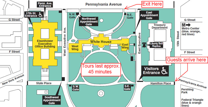 White House Tours 2017 Tickets Maps And Photos